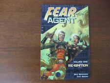 FEAR AGENT TRADE PAPERBACK - VOLUME 1 - SIGNED BY REMENDER & TONY MOORE - VF/VF+