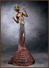 """Erte    (Romain De Tirtoff)     """"Fantasia""""   Bronze   MAKE OFFER  DSSBA"""