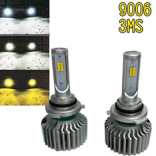 9006 HB4 LOW BEAMS T5 LED Bulbs HIGH POWER CSP 3 Color 6000K 3000K 4300K AN