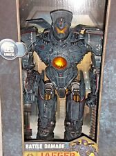 "NECA Pacific Rim GIPSY DANGER Battle Damage Giant JAEGER 18"" Robot Action Figure"