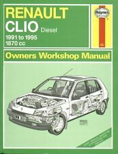 RENAULT CLIO MK1 1.9L DIESEL ( 1991 - 1995 ) OWNERS WORKSHOP MANUAL
