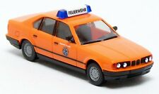 Herpa - BMW 5er E34 535i Feuerwehr Erlangen leuchtrot ELW KdoW Modell - 1:87 H0