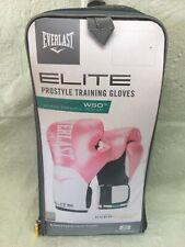 New Pink Everlast Elite Pro Style Leather Training Boxing Gloves Size 8 Ounces