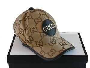 GUCCI Neu Damen Cap Herren HUT ORIGINAL UNISEX GG CAP ONE SIZE: M GUCCI BOX