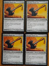 MTG - Morningtide - Obsidian Battle-Axe  x4  NM/Mint
