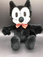 "Vintage 1982 Felix the Cat Plush Toy 15"" Stuffed Animal Toy"