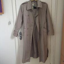 Paul Costelloe Dressage Trench Coat Mac Rain Coat Beige BNWT Size L