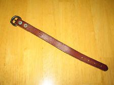 Polo Ralph Lauren Men's Distressed Brown Leather Bracelet