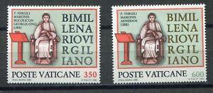 s24711) DEALER STOCK VATICANO MNH** 1981 Vergil 2v Virgilio (X10 SETS)
