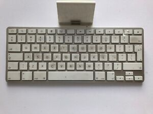 Genuine Apple, white iPad keyboard