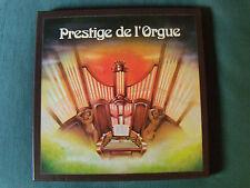 PRESTIGE DE L'ORGUE - 4 LP BOX SET COFFRET 1976 French RCA SRD 281 - ORGANS USA