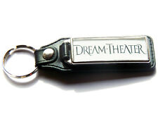 More details for dream theater progressive metal band large leather and chrome keyring