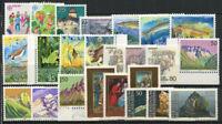 Liechtenstein 1989 Mi. 960-983 MNH 100% Complete year set CEPT, nature, traditi