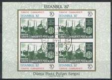 Turkije 1985 gestempeld block 24 - Istanbul 1987 (SG054)