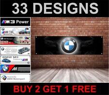 LOGO BMW atelier, garage, travail ou Showroom pvc drapeau