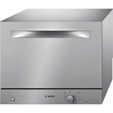 kompakt Geschirrspüler Bosch SKS51E28EU EEK A Auftisch Silver INOX