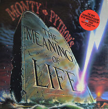 """OST - MONTY PYTHON´S - THE MEANING OF LIFE - ERIC IDLE 12""""  LP (Q848)"""