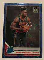 Bruno Fernando 2019-20 Optic RC Blue Velocity Prizm Hawks Donruss Rated Rookie