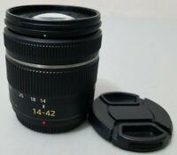 Panasonic 14-42MM H-FS014042 Lens for Panasonic M 4/3 GF2 GF3 GH1 GH2 *VERY GOOD