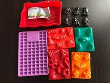 Jello Molds Fourth of July Football Star Wars Easter Jelly Beans Birthday Shots