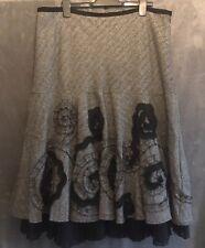 PER UNA Lagenlook Winter Skirt Size 20 Wool