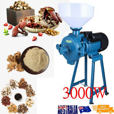 220V Electric Mill Wet Dry Cereals Grinder Corn Grain Rice Coffee Wheat+Funnel