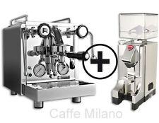 Rocket R 58 Dual Boiler mit Eureka MCI Timer chrom - Caffe Milano