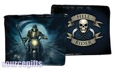 NEW HELL RIDER MENS WALLET FAUX LEATHER NEMESIS JAMES RYMAN GOTHIC * 1st