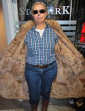 Festliche Damenjacken & -mäntel mit Pelz ohne Muster und Knöpfe