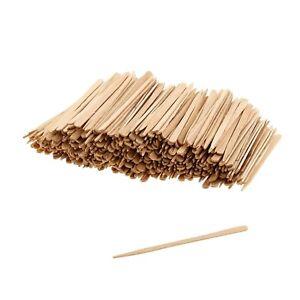 200 Eyebrow Small Wooden Wood Tongue Depressors Spatulas Wax Waxing Tatoo Sticks