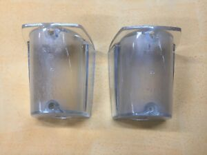 FIAT 1800 2100 2300 FANALE POSTERIORE tail lights lenses STARS 1.25.05 NOS