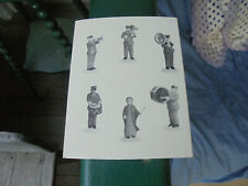 Department 56 Heritage Village Collection Salvation Army Band Set Of 6