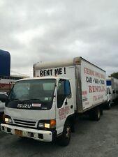 isuzu npr diesel box truck