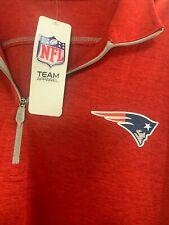 New listing $60 NFL Team Apparel 1/2 Zip Golf Red Long Slv Pullover New England Patriots 2XL