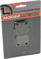 MOOSE RACING QUALIFIER REAR BRAKE PADS FOR THE 1985 1986 HONDA ATC350X ATC 350X