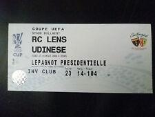 Entradas - 2006 Lente de Copa UEFA Rc V uninese, 23 de febrero