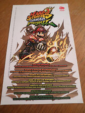 Mario Strikers Charged Football Wii - CODE PIN CARTE VIP - pas de jeu NO GAME