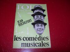 REVUE TOP  REALITES JEUNESSE  N° 259  NOVEMBRE   1963    JEAN ROCHEFORT