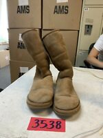 UGG AUSTRALIA Women's Size 6 Classic Tall Chestnut Sheepskin Boots Shoes 5815
