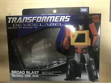 Takara Tomy Transformers G1 Device Label Blaster Broadblast Broadcast New