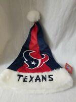 Houston Texans 2018 NFL Basic Logo Plush Christmas Santa Hat