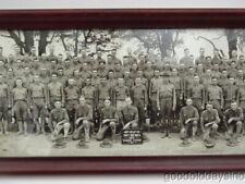 Camp Zachary Taylor Wwi Era Yard Long Panoramic Military Photo
