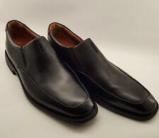 Clarks Unstructured Men's Shoes UK 12 G Black Slip-on Air Circulation System