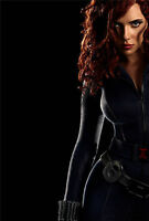 Black Widow Scarlett Johansson Giant Poster - A0 A1 A2 A3 A4 Sizes Available