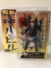 Rare Kill Bill Series 1 NECA 'Crazy 88 Fighter' Action Figure Blood Spray Action