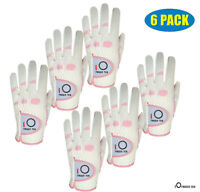 Womens Golf Gloves Med 6 Pack RelaxGrip Weather Ladies Left Right Hand Pick Size