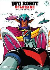 UFO ROBOT GOLDRAKE #03  6 DVD  COFANETTO  ANIME