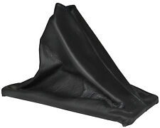 1984 - 1985 Early Corvette Black Leather Upper Shift Boot - 4 Speed