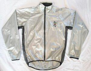 Vintage LeMond rain wind cycling jacket size Large