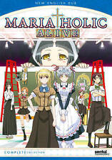 Maria Holic: Alive - Complete Collection (DVD, 2014, 3-Disc Set) NEW Anime